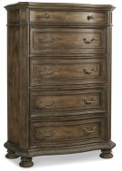 Bedroom Rhapsody Five Drawer Chest Product Image