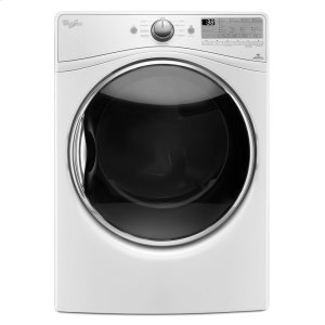 7.4 cu.ft Front Load Electric Dryer with Advanced Moisture Sensing, EcoBoost - WHITE
