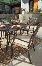 Burnella - Brown 2 Piece Patio Set Product Image