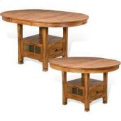 Sedona Oval Family Table