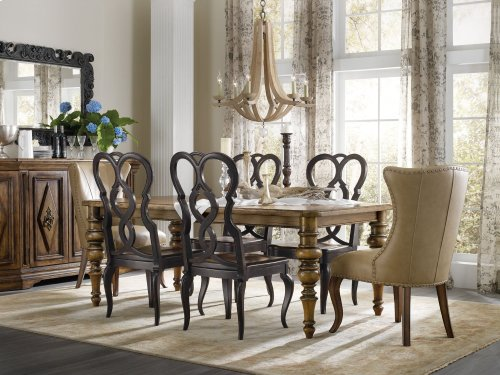 Dining Room Auberose Splatback Wood Seat Side Chair