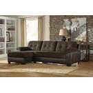 Vanleer - Chocolate 2 Piece Sectional Product Image