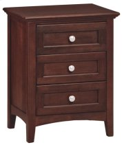 CAF 3-Drawer McKenzie Nightstand Product Image