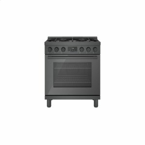 Bosch800 Series Gas Freestanding Range 30'' Black Stainless Steel HGS8045UC