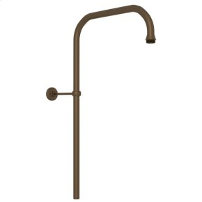 """English Bronze Perrin & Rowe 31"""" X 15"""" Rigid Riser Shower Outlet"""