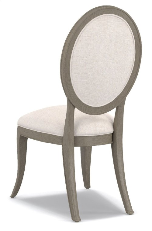 Dining Room Darling Upholstered Oval Back Side Chair