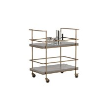 Adina Bar Cart - Grey