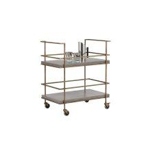 Adina Bar Cart - Grey
