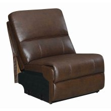 Channing Casual Brown Armless Chair