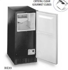 Luxury Consumer Ice Machine - White
