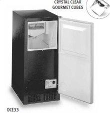 Luxury Consumer Ice Machine - Black