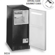 Luxury Consumer Ice Machine - Black