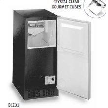 Luxury Consumer Ice Machine - Stainless Steel