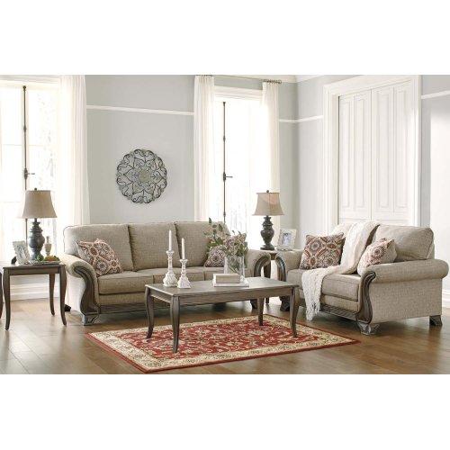 18003  Sofa and Loveseat - Claremorris Fog