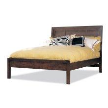 Queen Panel Bed W/Low Panel Ftbd
