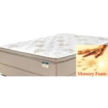 Comfortec -Stafford Continuous Coil - Gel Foam - Pillow Top - Queen