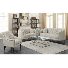 Avonlea Traditional Beige Sofa