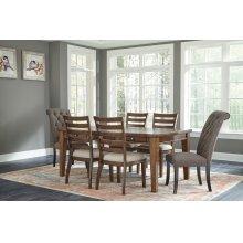 Flynnter - Medium Brown 7 Piece Dining Room Set