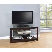 Dark Brown TV Console