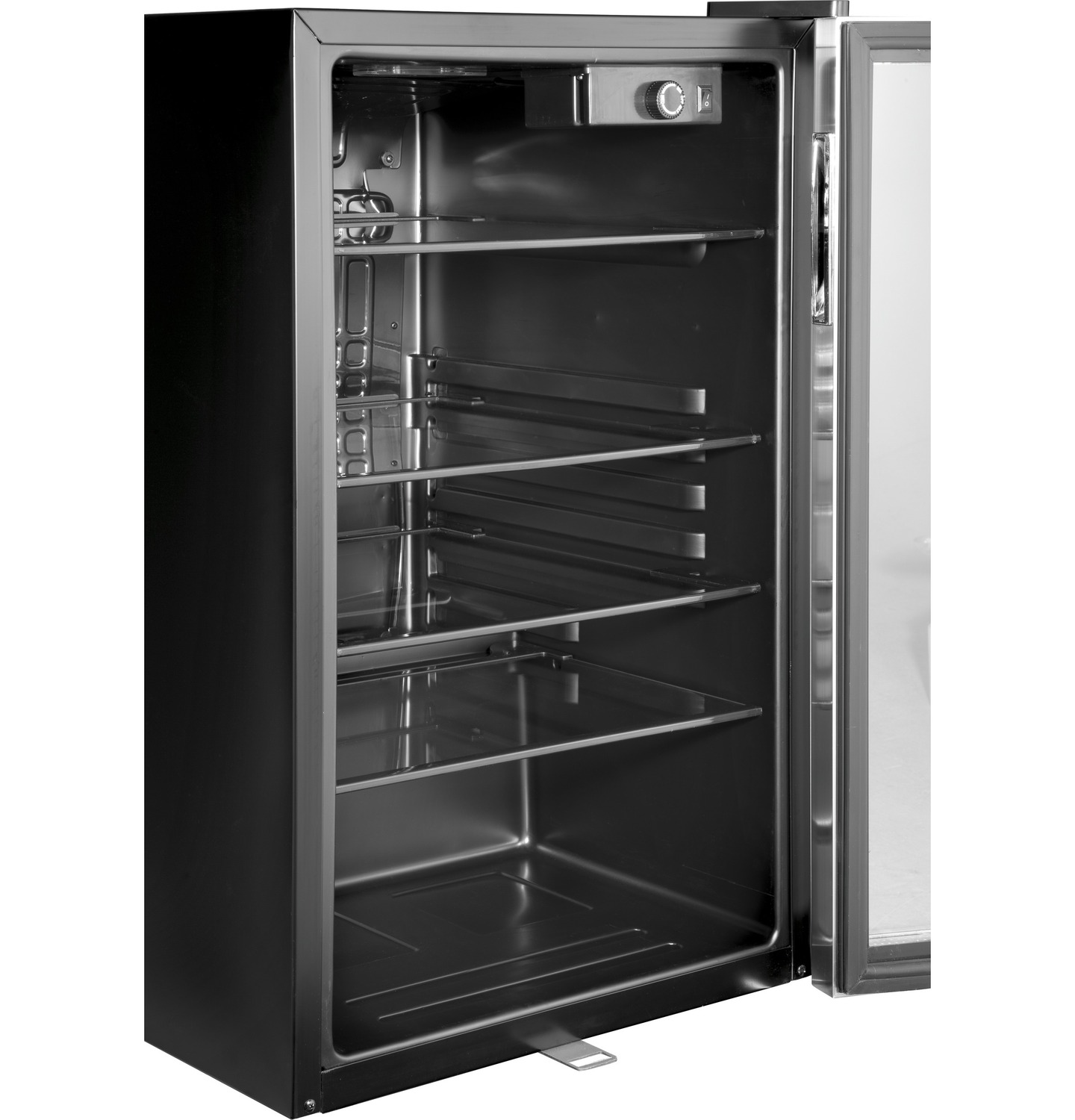 Hebf100bxs Haier Appliance 150 Can Beverage Center Fred