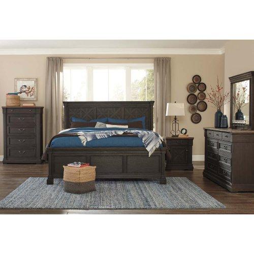 Tyler Creek Black Gray 2 Piece Bedroom Set