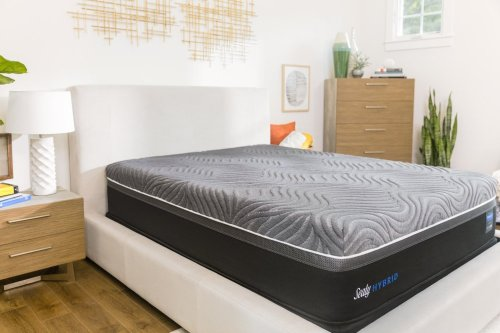 Hybrid - Premium - Silver Chill - Firm - Mattress and Flat Foundation