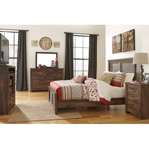 B246B18 in by Ashley Furniture in Manhattan, KS - Quinden - Dark ...