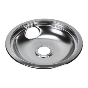 WhirlpoolElectric Range Round Burner Drip Bowl, Chrome