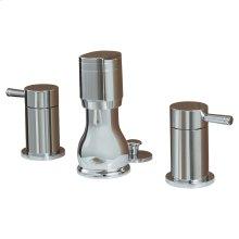 Serin 2-Handle Bidet Faucet - Polished Chrome