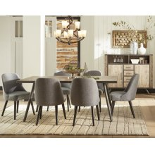 American Retrospective Table With Four Chairs