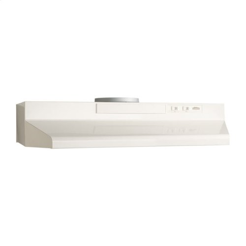 "24"" Convertible Range Hood, Bisque-on-Bisque"