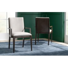 Paldao Upholstered Back Arm Chair