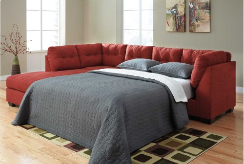 Maier RAF Sectional Sleeper Sofa w/LAF Chaise - Sienna Collection