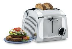 Cast Metal 2 Slice Toaster