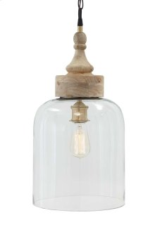 Glass Pendant Light (1/CN) Pendant Light - Transparent Collection Ashley at Aztec Distribution Center Houston Texas