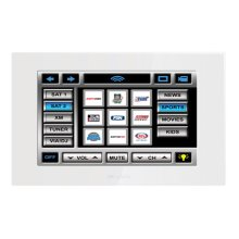 """7"""" Color In-Wall Touch Panel / Video Monitor"""