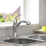 American StandardQuince 1-Handle Pull-Out Kitchen Faucet - 1.5 GPM  American Standard - Polished Chrome