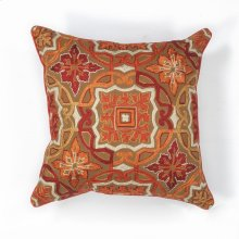 "L125 Mocha Awakening Pillow 18"" X 18"""