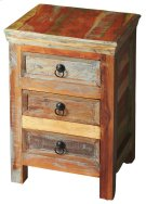 Crafted from recycled wood solids in a multi-colored hand-painted finish ensuring bonafide originality, this Accent Chest offers the faded colors of an heirloom as well as an alluring rustic charm. Product Image