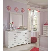 Anarasia - White 2 Piece Bedroom Set Product Image