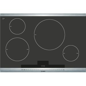Bosch800 Series - Black with Stainless Steel Strips NIT8065UC NIT8065UC