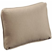 "Throw Pillows Knife Edge Kidney w/welt (16"" x 20"")"