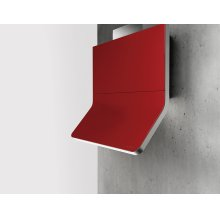 Horizon, Wall, 90cm, SS/Red Glass, BODY ONLY