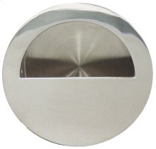 Round Pocket/Cup Pull w/Semi-circular Opening, US32
