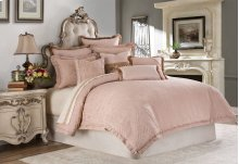 9pc Queen Comforter Set Quartz