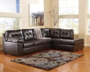Alliston DuraBlend® - Chocolate 2 Piece Sectional Product Image