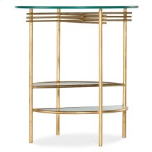 Living Room Well Balanced Round End Table