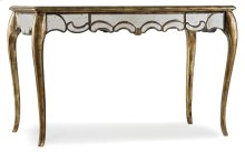 Home Office 48 1/4 inch Mirrored Writing Desk