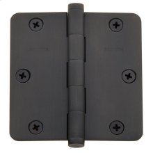 "Oil-Rubbed Bronze 1/4"" Radius Corner Hinge"
