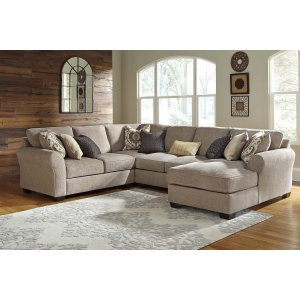 Ashley Furniture Pantomine - Driftwood 4 Piece Sectional